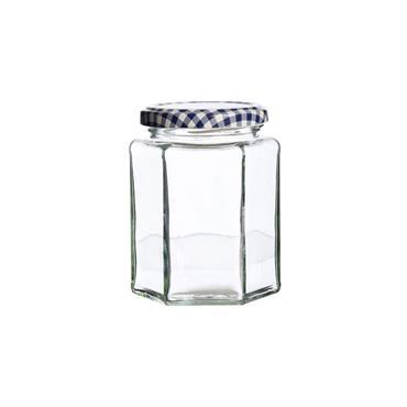 Kilner Hexagonal Twist Top Jar 0.28L