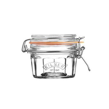 Kilner Facetted Clip Top Jar 0.25L