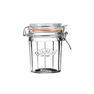 Kilner Facetted Clip Top Jar 0.45L