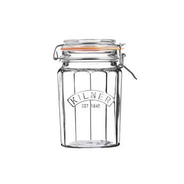 Kilner Facetted Clip Top Jar 0.95L
