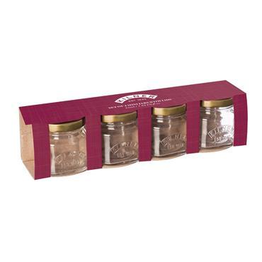 Kilner Mini Jars 55ml 4pce