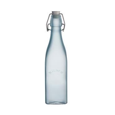Kilner Blue Frosted Clip Top Bottle 0.56L