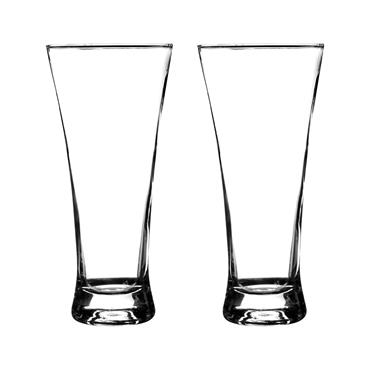Essentials Lager Glasses 32cl 2pk