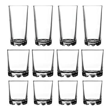 Hobnobs Tumbler Glasses Set 12pk