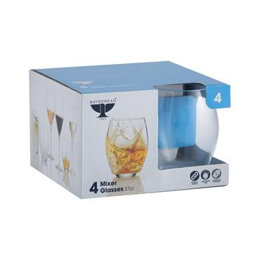 Ravenhead Sphere Mixer Glasses 37cl 4pk