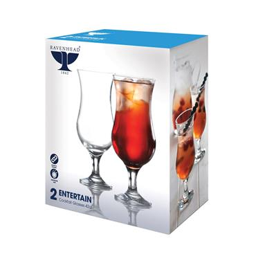Ravenhead Entertain Cocktail Glasses 42cl 2pk