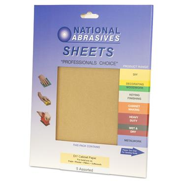 Cabinet Paper 5pk Assorted
