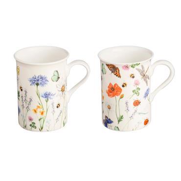 Price & Kensington Hedgerow Assorted Bone China Mug