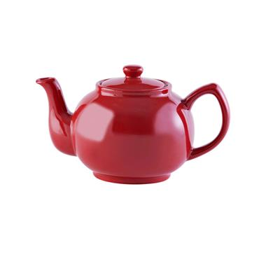 Price & Kensington Bright Red 6 Cup Teapot
