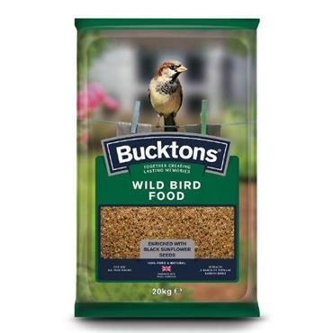 Bucktons Wild Bird Seed 20kg
