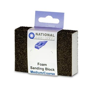 Foam Sanding Block Medium/coarse