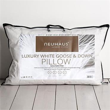 Neuhaus Luxury White Goose & Down Pillow