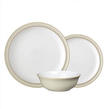 Denby Linen Tableware Set 12pce
