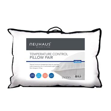 Neuhaus Temperatute Control Pillow Twin Pack