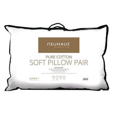 Neuhaus Pure Cotton Soft Pillow Pair