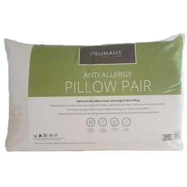 Neuhaus Anti Allergy Pillow Twin Pack