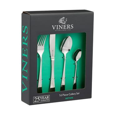 Viners Neptune 18/0 Cutlery Set 16pce