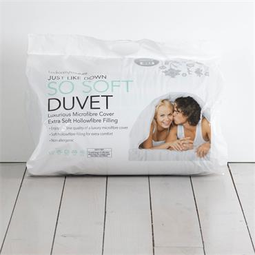 Bedroom Couture So Soft Microfibre Duvet 13.5tog Double