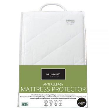 Neuhaus Single Mattress Protector Anti Allergy