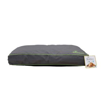 Beddies Waterproof Mattress Charcoal / Lime Dog Bed Medium