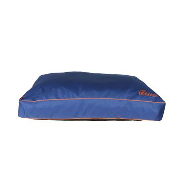 Beddies Waterproof Mattress Blue / Rust Dog Bed Large