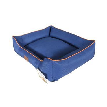 Beddies Waterproof Lounger Blue / Rust Dog Bed  Large