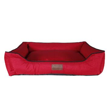 Beddies Stella Waterproof Lounger Red Dog Bed Medium