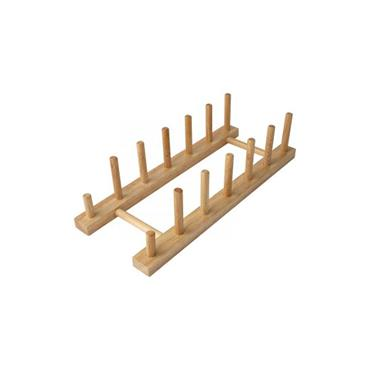 Plate Rack For 6 Plates In Hevea