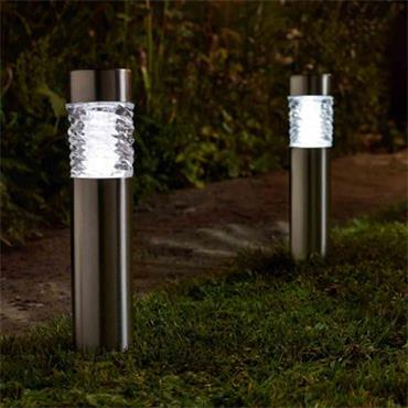 Smart Garden Wave Stainless Steel Bollard 10L