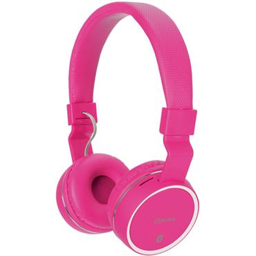 Av:Link Wireless Bluetooth Headphones Pink