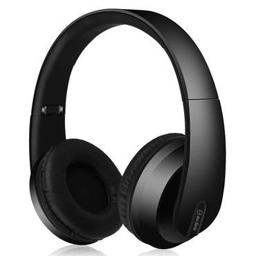 Av:Link Wireless Bluetooth Headphones Satin Black
