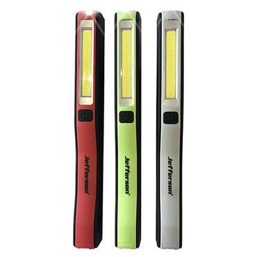 Jefferson Assorted 230lm Rechargeable COB LED Pen Light