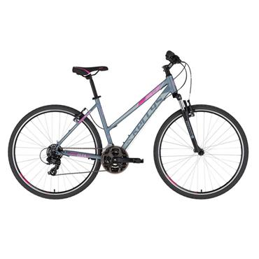 Kellys Clea 10  Ladies  Hybrid Bike  PINK GREY