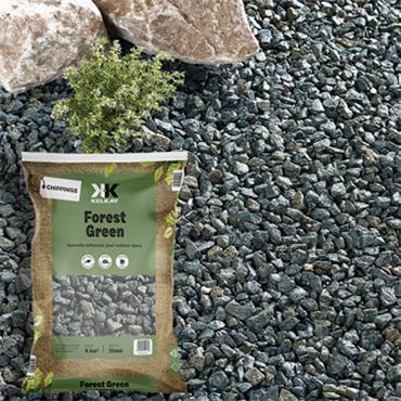 Kelkay Forest Green Chippings 25kg