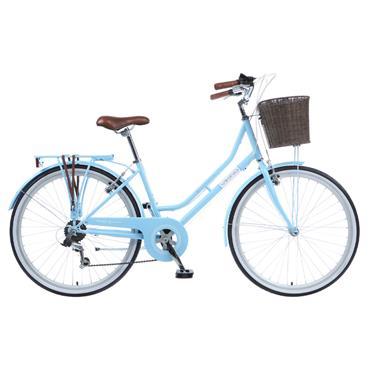 "Viking Belgravia Ladies Traditional Heritage 16"" Frame Bike Blue"