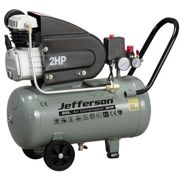 Jefferson 25L Compressor 2.0hp 8 Bar 220V