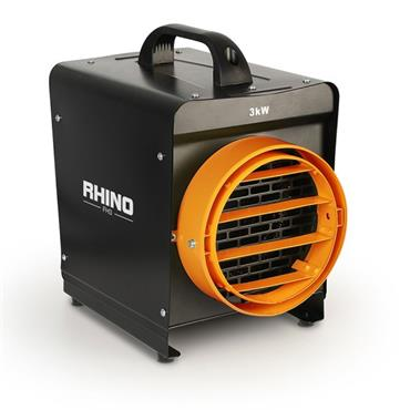 Rhino Fh3 Portable Fan Heater 240v