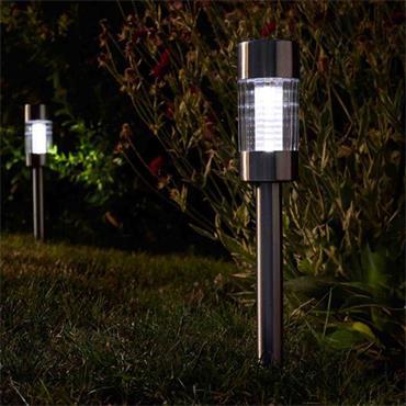 Smart Garden Flare Stainless Steel Stake Light