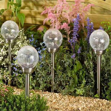 Smart Garden Majestic Stainless Steel Stake Light