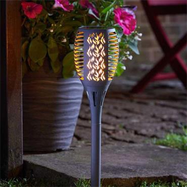 Smart Garden Compact Flaming Torch Open Stock Slate