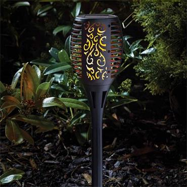 Smart Garden Large Solar Flaming Torch