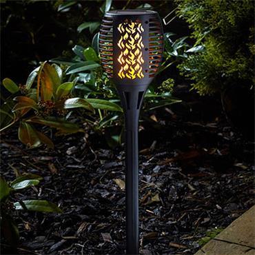 Smart Garden Compact Solar Flaming Torch