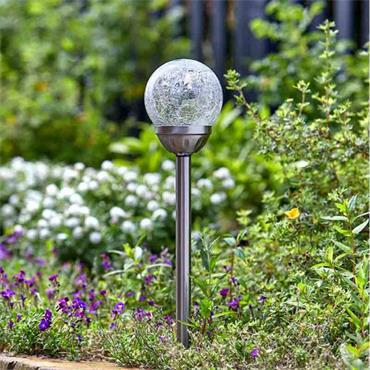 Smart Garden Classic Majestic Stainless Steel Stake Lights 5pce