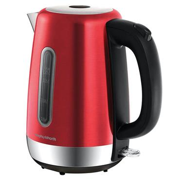 Morphy Richards Equip 1.5L Rapid Boil Kettle Metallic Red