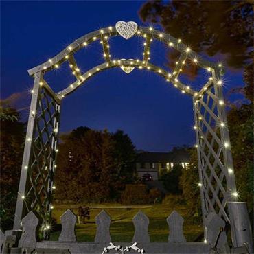 Smart Garden Firefly String Lights 200 Warm White LED