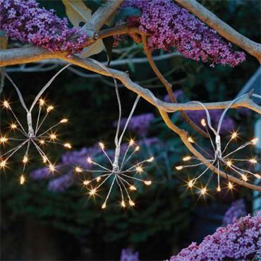 Smart Garden Starburst Solar String Lights