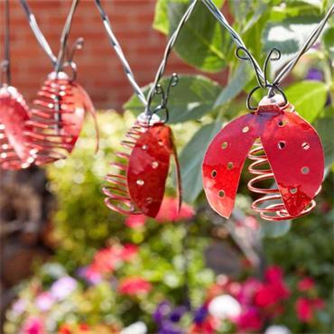 Smart Garden 10 Ladybird Solar String Lights