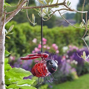 Smart Garden Solar Bug Light Ladybird