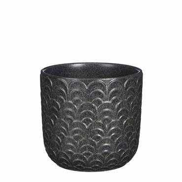 Edelman Como Pot Round Black