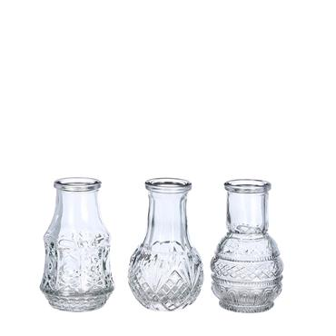 Edelman Dax Single Flower Vase Blue 3 pce